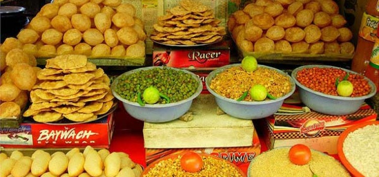Famous Street Food Locations in Jaipur