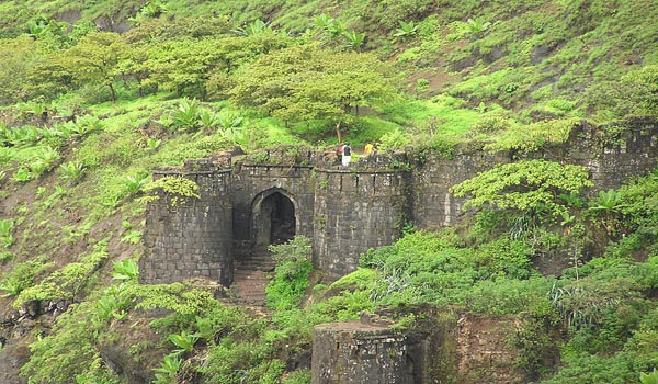 Kalyan Darawaja on Sinhgad Fort