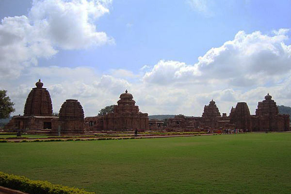 String of temples at Pattadakal, Karnataka