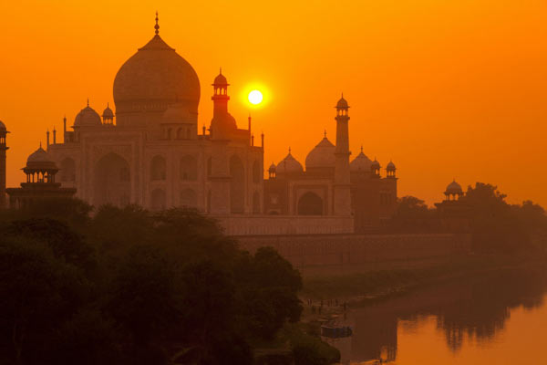 Taj Mahal, Agra, Best Sunset Point In India