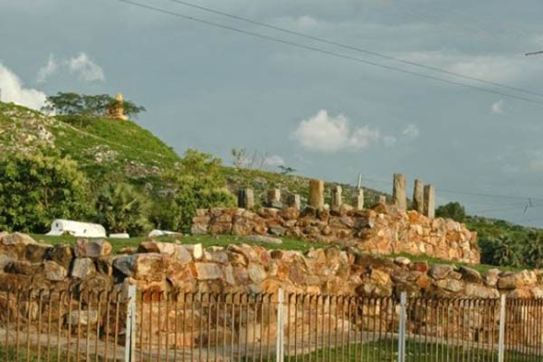 Ajatshatru Fort in Rajgir