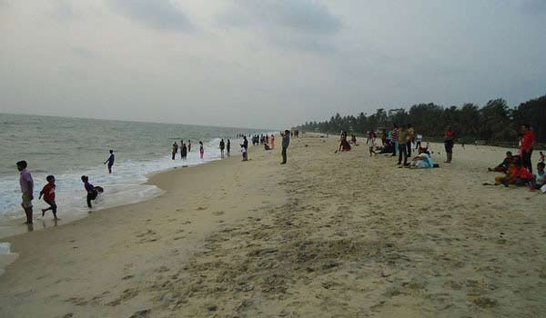 Alappuzha Beach in Alleppey