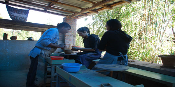 Andretta Pottery in Palampur