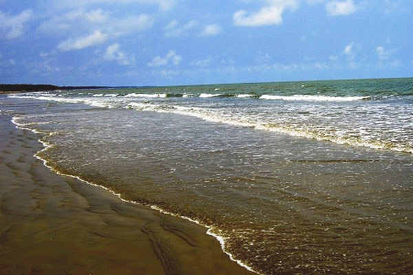Balaramgadi Beach in Orissa