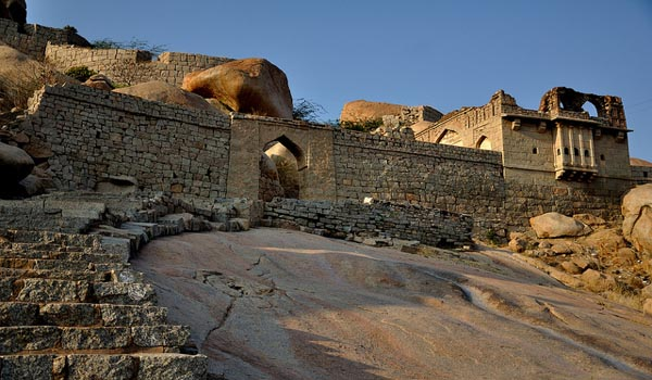 Bellary Fort in Bellary