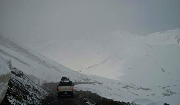 Burzil Mountain in Jammu & Kashmir