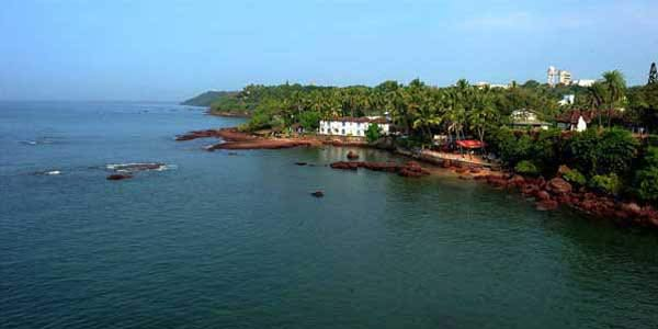 Dona Paula Beach in Goa