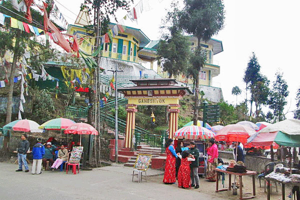 Ganesh Tok View Point in Gangtok