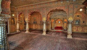 Inside Junagarh Fort