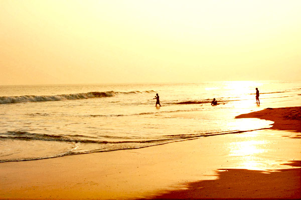 Konark Beach in Orissa