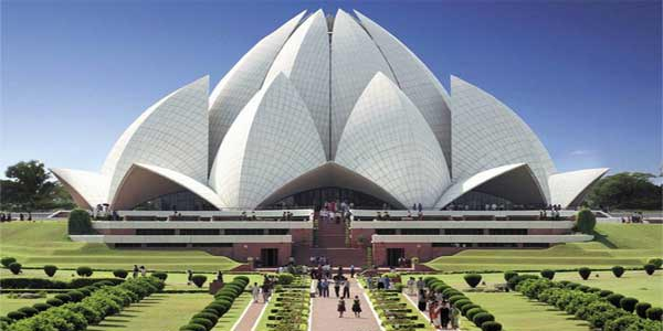 Lotus Temple in Delhi