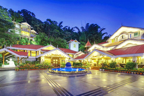 Mayfair Spa Resort in Gangtok