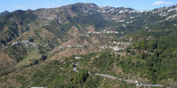 Mussoorie, a beautiful hill station