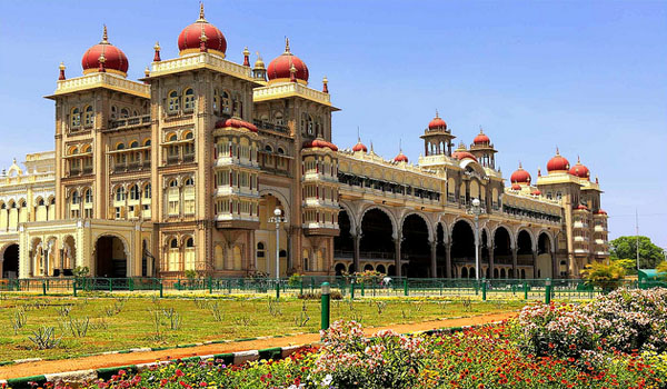 Mysore Palace in Mysroe