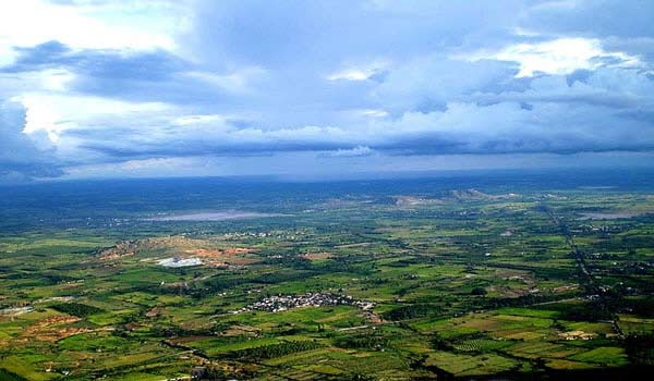 Nandi Hills in Bangalore