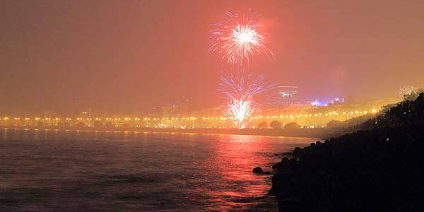 New Year at Marine Drive