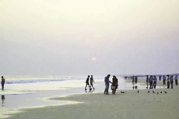 Paradeep Beach in Orissa