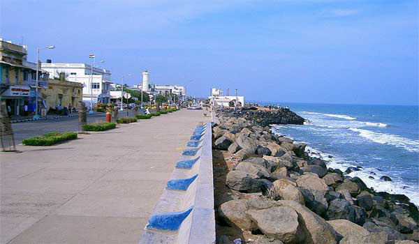 Promenade Beach Pondicherry