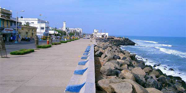 Promenade Beac Pondicherry