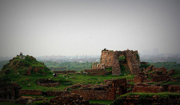 Ruins of Tughlaqabad fort