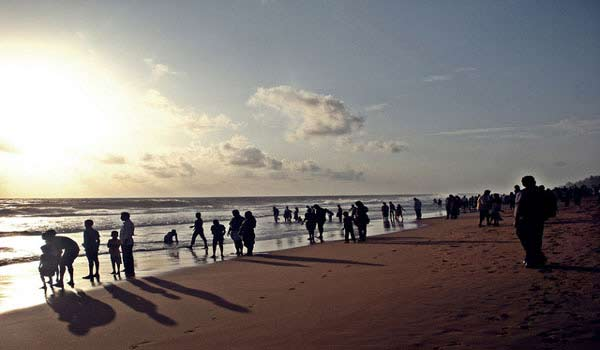 Shankumugham Beach in Kerala