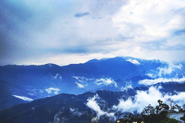 Tashi views point in Gangtok