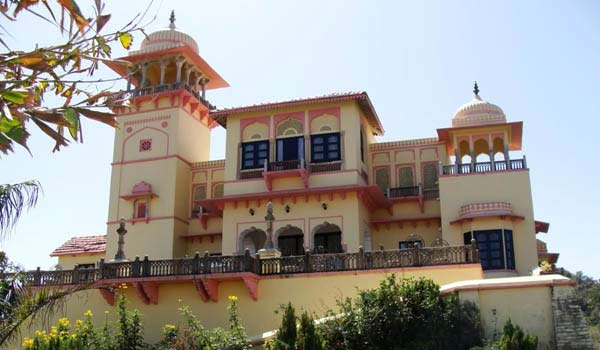 The  Jaipur House in Rajasthan