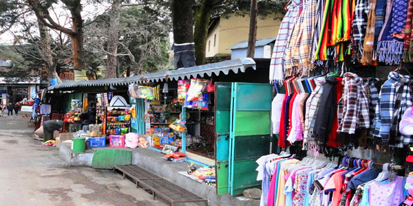 Tibetan Market in Kasauli