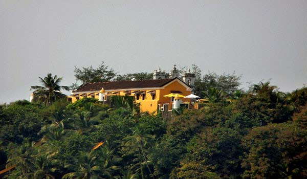 Tiracol Fort in Kerala