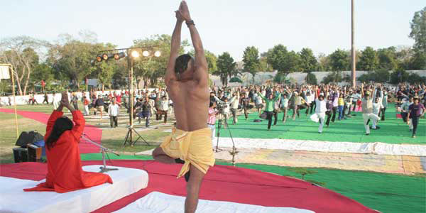 Vilakshan Yog Camp at Tihar jail