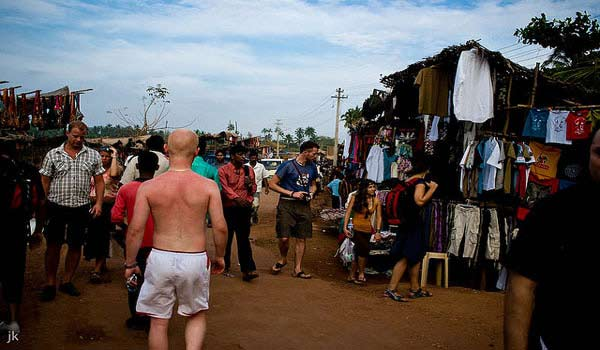 Anjuna Flea Market in Goa