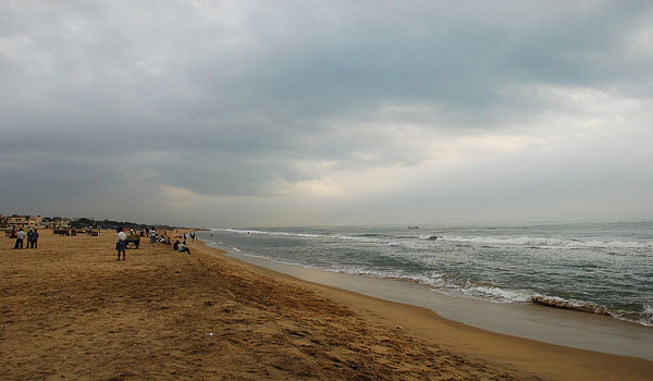 Elliot Beach Chennai