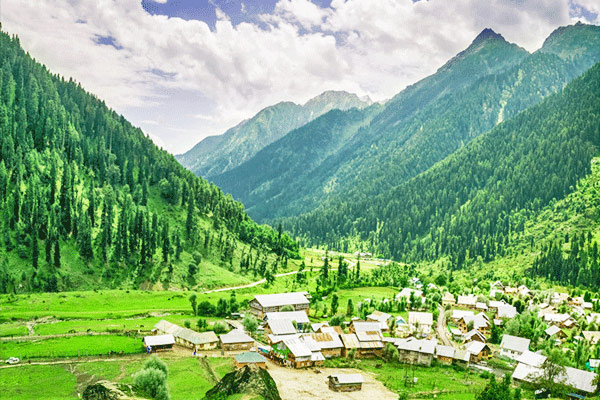 Aru Valley in Pahalgam