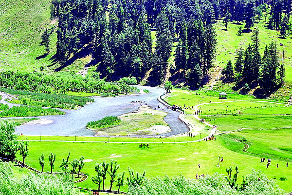 Betaab Valley in Pahalgam