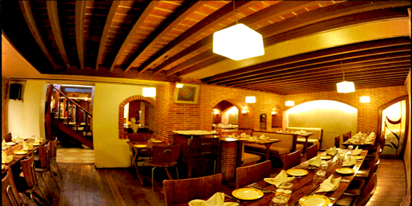 The Cellar Restaurant in Lucknow
