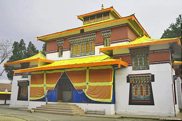 Enchay Monastery in Gangtok