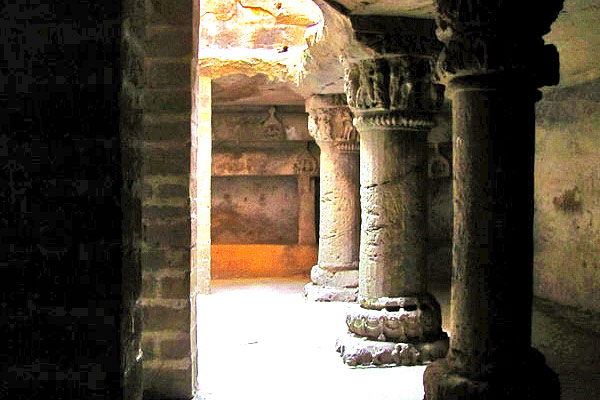 Junagadh Buddhist Cave in Gujarat