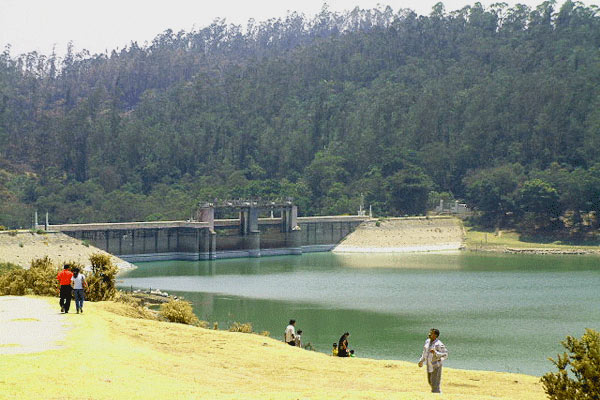 Kamaraj Sagar Lake in Ooty