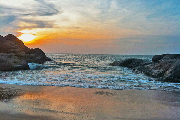 Kapu Beach in Mangalore