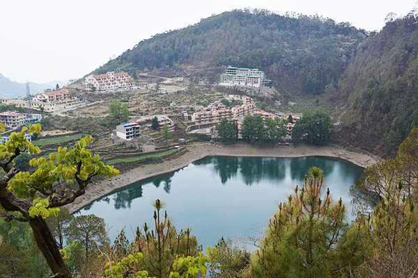 Khurpatal Lake in Nainital