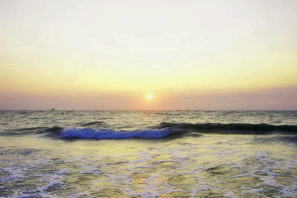 Malpe Beach in Mangalore