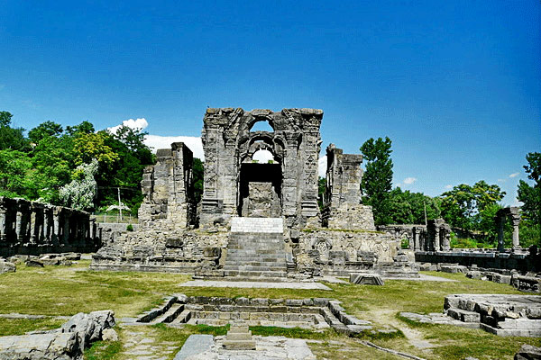 Martand Sun Temple in Pahalgam