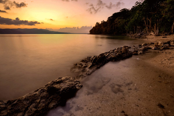 Munda pahar Beach in Port Blair