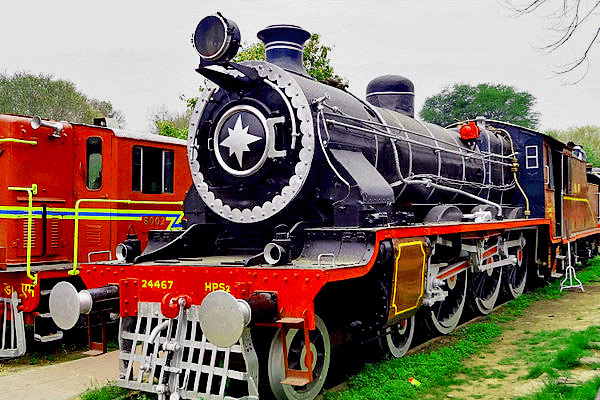 National Rail Museum in Delhi