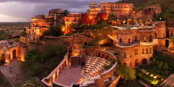 Neemrana Fort Palace Hotel in Rajasthan