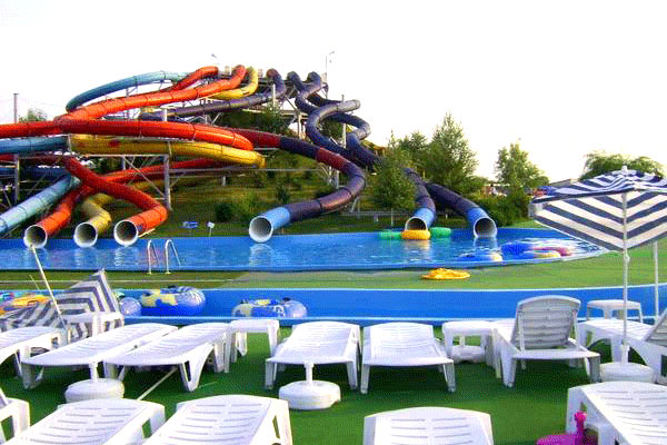 Nishiland Water Park in Mumbai