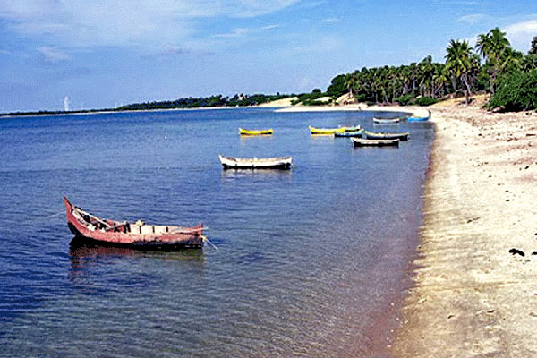 Olaikuda Beach in Rameshwaram