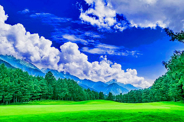 Pahalgam Golf Course in Pahalgam