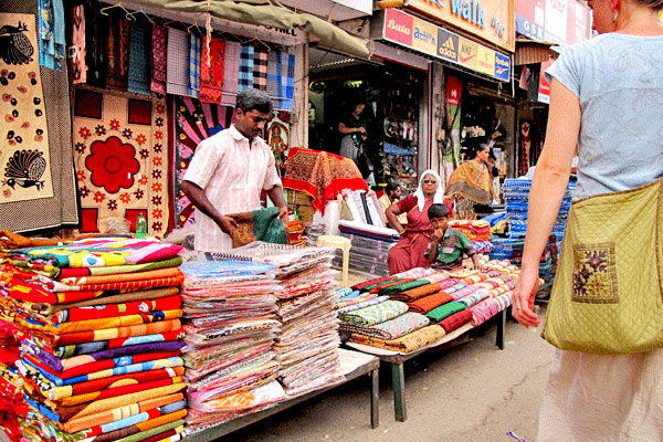 Pondi Sunday Market in Pondicherry