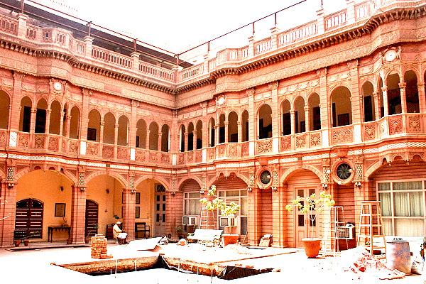 Rampuria Haveli in Bikaner